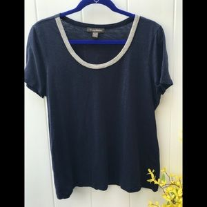 Tommy Bahama Navy Xlarge womens Top